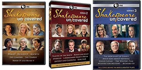 DVD : Shakespeare Uncovered, Series 1-3: Stories Behind