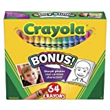 Classic Color Pack Crayons, Assorted 64/Box