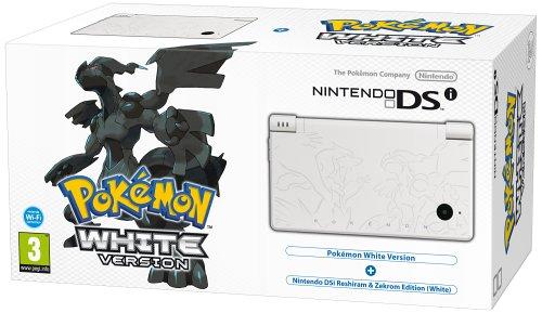 Nintendo DSi Console (White) with Pokemon White Version Bundle (Nintendo DS)
