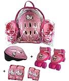 Darpeje OHKY002 HELLO KITTY baby quads mit schutz und helm, Größe 23-29