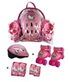 Hello Kitty Baby Quad, Helmet, Elbow and Knee