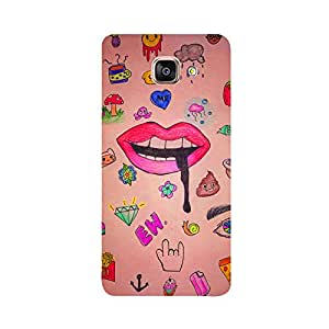 Skintice Designer Back Cover with direct 3D sublimation printing for Samsung A5(2016)