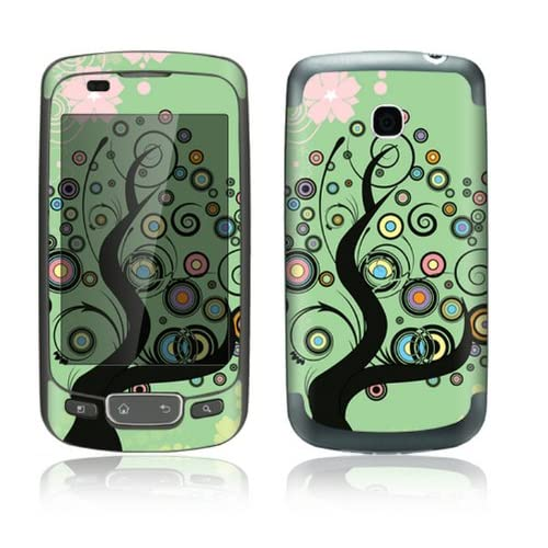Girly Tree Design Decorative Skin Cover Decal Sticker for LG Optimus One P500 Cell Phone