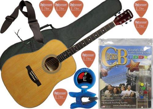 Low Price ChordBuddy Acoustic Guitar Bundle - 6 Items: Acoustic ...