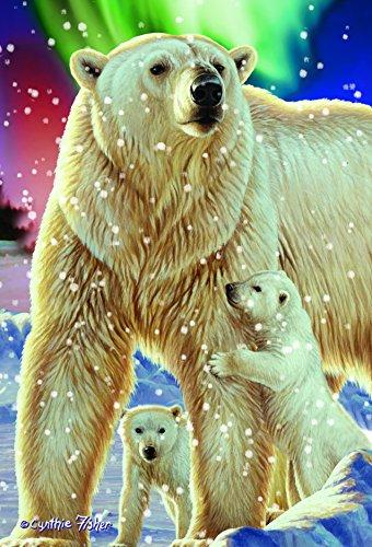 Gift Trenz Polar Bear- 3D Magnet - 1