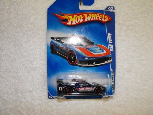 Hot Wheels Racing 2009-068 Acura NSX 1:64 Scale - 1