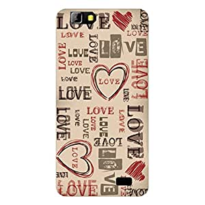 RD Digital Printed Designer Back Cover for LYF Wind 5 (Multi-color)