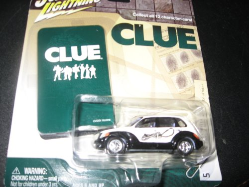 Johnny Lightning Clue Mrs White 2001 Chrysler PT Cruiser