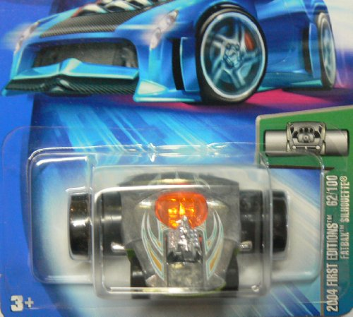 Hot Wheels 2004 First Editions 62/100 Fatbax Silhouette #062