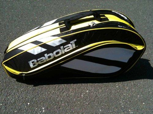 Babolat Club Line Racket Holder X6 Bag Black-Yellow Tennistasche