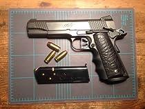 "Custom ""Gator Grips"" High-Impact Polymer 1911 Grips in Black"