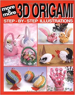 more and more 3d origami joie staff 9784889961911