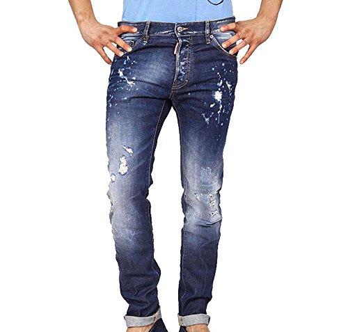 jeans uomo Dsquared2 mens jeans s71la0924 s30477 470 -- 54 eur - 44 us