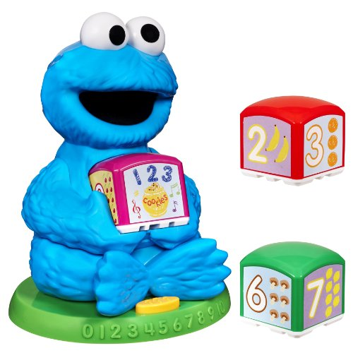 buy sesame street cookie monster find learn number block. Black Bedroom Furniture Sets. Home Design Ideas