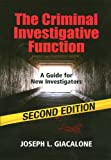 9781608850617: The Criminal Investigative Function - 2nd Edition