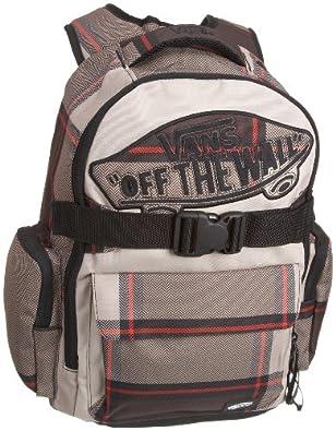 Vans Underhill 2 Backpack Brown Herringbone Plaid