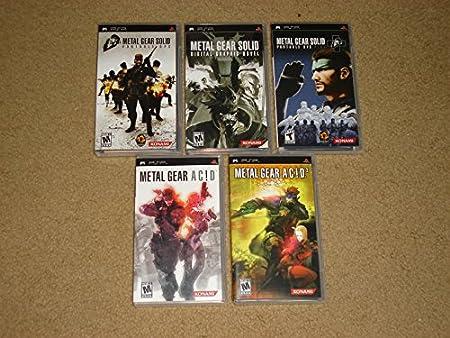 Metal Gear Solid PSP Complete Set
