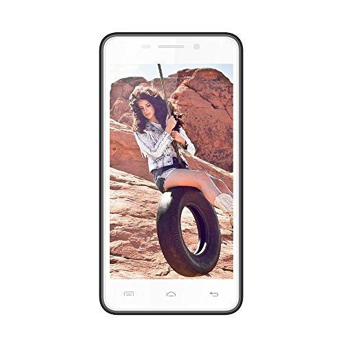 DOOGEE LEO DG280 4,5 Zoll Smartphone Android 4.4 Handy ohne Vertrag Quad-Core 1.3GHz 1GB RAM+8GB ROM Dual Kamera A-GPS Wifi Bluetooth 4.0 mit MEMTEQ® Eingabestift Reinigungstuch Schutzfolie Schutzhülle Dunkelblau