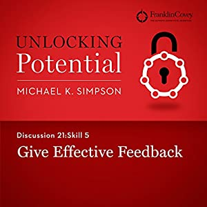 Discussion 21: Skill 5 - Give Effective Feedback Hörbuch