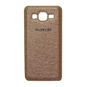 Samsung Galaxy J5 Premium Quality New Soft Back Case Cover - Gold