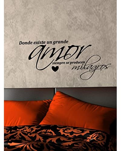 Ambiance Live Wall Decal AmoryMilagros black