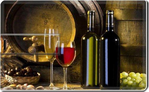 Variety Grape Wine Barrel Bottles 8G Usb Flash Drive 2.0 Memory Stick Luxlady Usb Credit Card Size Customized Support Services Ready Windows Mac Storage External front-598920