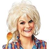 Dean Dish Platinum Blonde Wig