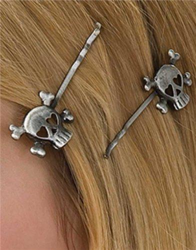 Rubie's Costume Skull Hairpins - 1