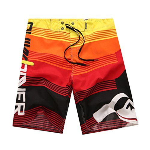 youjia-uomo-costumi-da-bagno-leisure-travel-short-pantaloncini-da-surfe-rosso-m