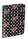 Accessorize Fashion Case Cover with Closing Strap for Amazon Kindle 4 - Polka Dot Floral