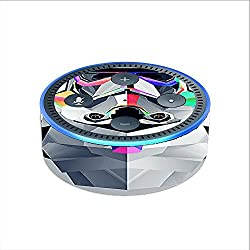 Skin Decal Vinyl Wrap for Amazon Echo Dot 2 (2nd generation) / Abstract Trooper