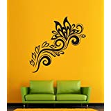 Hoopoe Decor Flower And Leaf Wall Stickers And Decals - B011CWLCDS