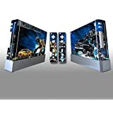 Skin Sticker Cover Decal Protector For Wii Console And 2 Remote Skins Transformer 028