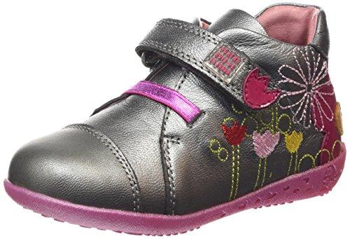 Agatha Ruiz De La Prada - 151901, Stivali per bambine e ragazze, argento (cromo), 37