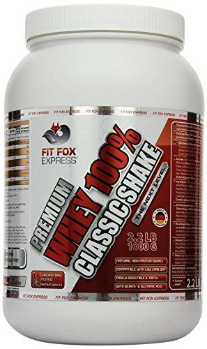 fit-fox-express-premium-whey-100-protein-eiweissshake-molkenprotein-mit-dosierloffel-classic-chocola