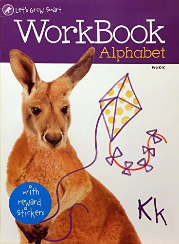 Pre-K Alphabet Learning Aid Workbook - 1