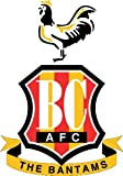 Bradford City AFC England Soccer Football Sticker 10X12cm