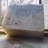 Provence Lavender Handmade Large Aged Limited Edition Soap 9 oz Bar ~ Natural Handcrafted...