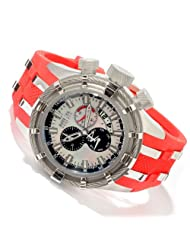 Invicta Men's 6939 Reserve Collection Bolt Chronograph Red Polyurethane Watch