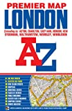 img - for London Premier Map (A-Z Premier Street Maps) book / textbook / text book