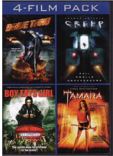 Horror 4 Film Pack (Drive Thru / Creep / Boy Eats Girl / Tamara)