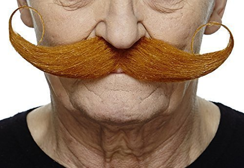 Capt' Hook ginger moustache