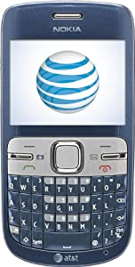 Nokia C3 Prepaid GoPhone (AT&T) with $30 Airtime Credit