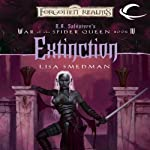 Extinction: Forgotten Realms: War of the Spider Queen, Book 4 (       UNABRIDGED) by Lisa Smedman Narrated by Rosalyn Landor