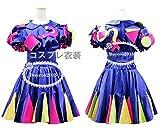 高品質 コスプレ衣装 きゃりーぱみゅぱみゅ  (フランスパリJapan Expo2012衣装) オーダーサイズ可能