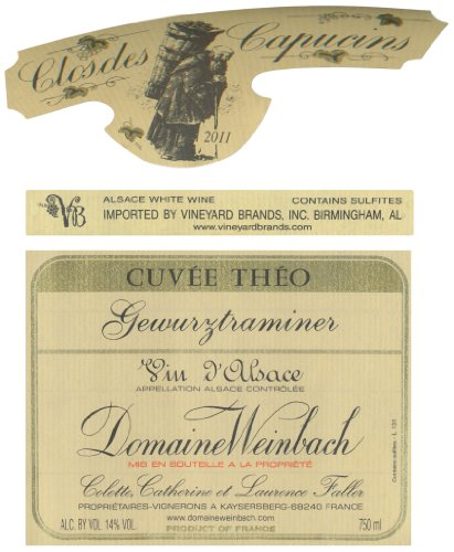 2011 Domaine Weinbach Gewurztraminer Cuvée Theo Alsace Grand Cru 750 Ml
