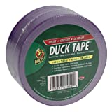 Duck Brand 646811 Purple Color Duct Tape, Purple, 1.88-Inch by 20 Yards, Single Roll