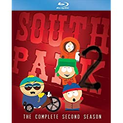 South Park: Complete Second Season [Blu-ray]