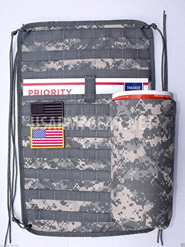 New ACU Military Army Molle ll Vehicle Panel MVP Garage Hand Tool Kit Storage Organizer ATV UTV No Canteen Sustainment Pouch (Molle Door Panel compare prices)