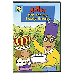 Arthur: D.W. and the Beastly Birthday - DVD